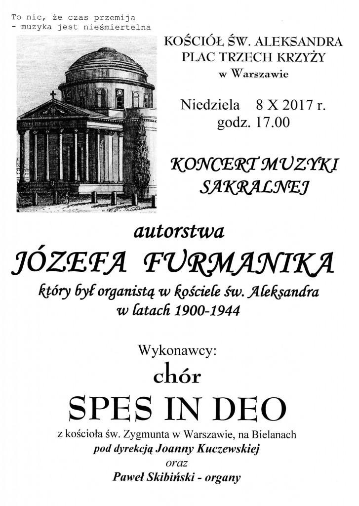 Koncert u św. Aleksandra 8 X 2017