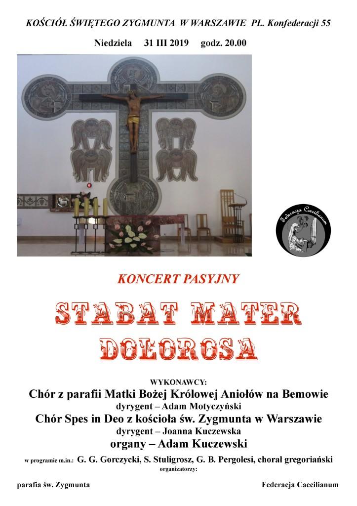 Koncert Pasyjny - 31.03.2019-A3-św. Zygmunt